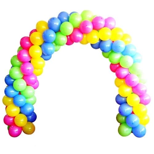 Гирлянда плетеная из шаров