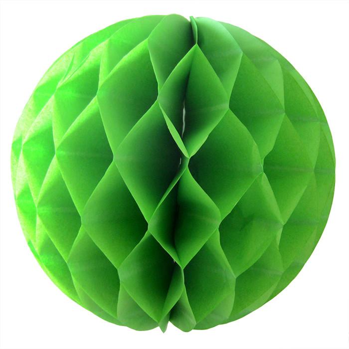 Шар-соты Зеленый, 20 см