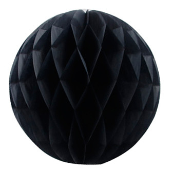 Шар-соты Черный, 30 см