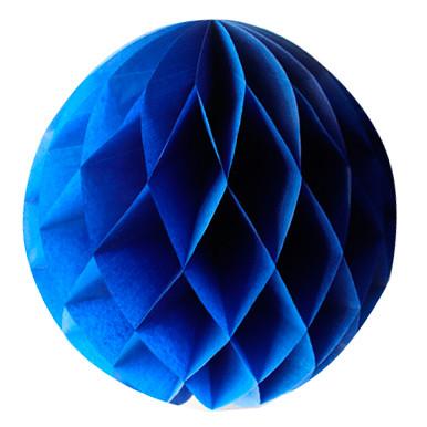 Шар-соты Темно-синий, 40 см