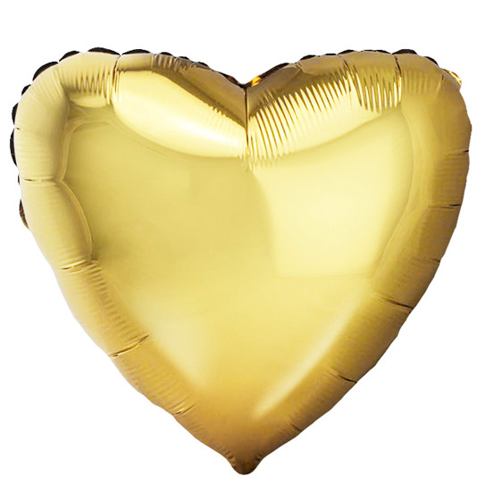 Сердце Античное Золото, 48 см