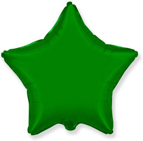 Звезда Зелёный, 78 см