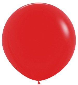 Красный, Пастель, 1 метр / 10 шт / Колумбия