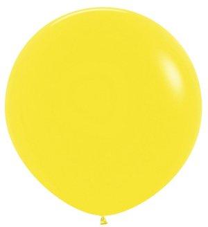 Жёлтый, Пастель, 1 метр / 10 шт / Колумбия