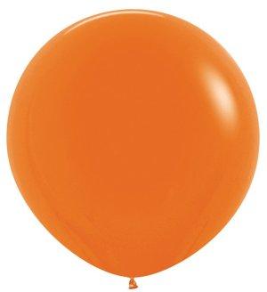 Оранжевый, Пастель, 1 метр / 10 шт / Колумбия