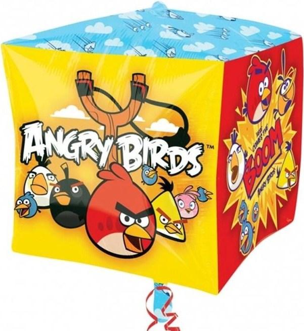 3D КУБ 38 см Angry Birds