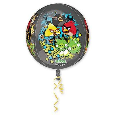 Шар 3D СФЕРА Angry Birds, 41 см