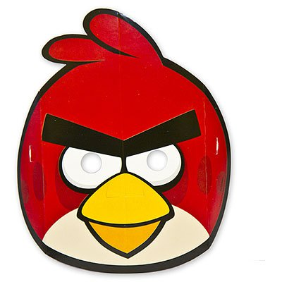 Маска Angry Birds бумажная