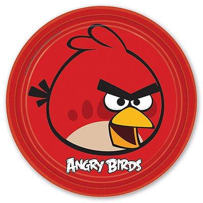Тарелки Angry Birds, 23 см, 8 штук/А