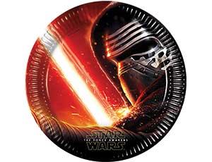Тарелка Звездные войны 7 23см 8шт