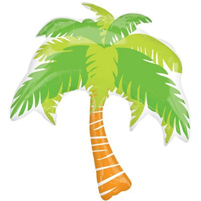 Шар-фигура Пальма, 64*81 см