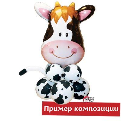 Шар Пятна Корова