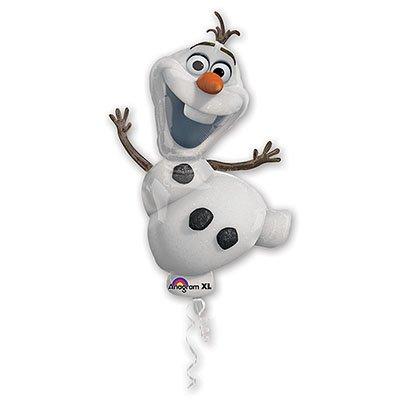 Шар фигура снеговик Олаф/51*104см