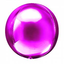 Шар 3D сфера, фольга, 20