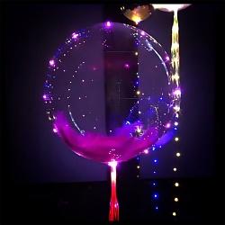 Шар  Deco Bubble, декорированный светодиодной нитью
