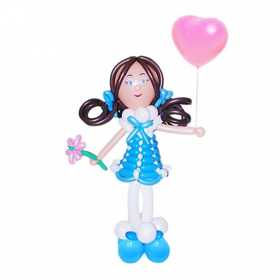 Девочка с воздушным шаром