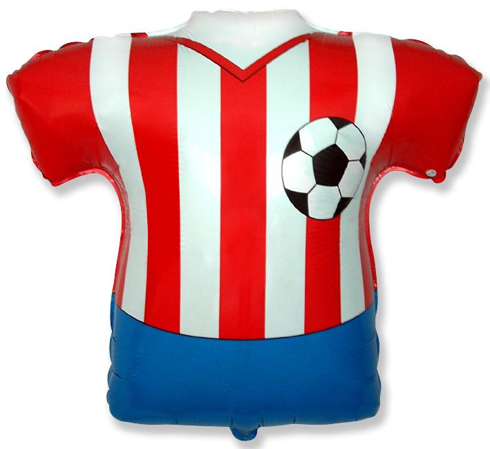 Футболка красно-белая / Footbal Shirt, 66*66 см