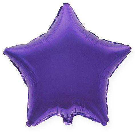 Звезда Фиолетовый, 10 см