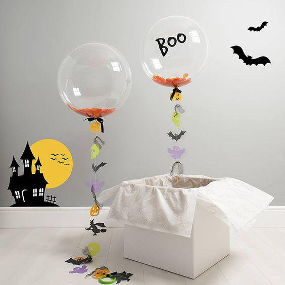 Устрашающие Bubble шарики