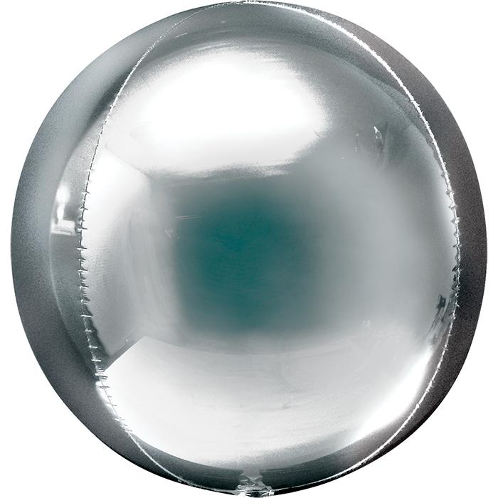Сфера 3D Серебро / Silver Orbz G20, 41 см