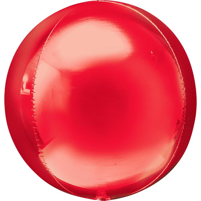 Сфера 3D Красный / Red Orbz G20, 41 см