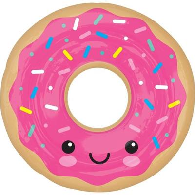 А ФИГУРА/P35 Пончик в глазури розовой,  68см/68см