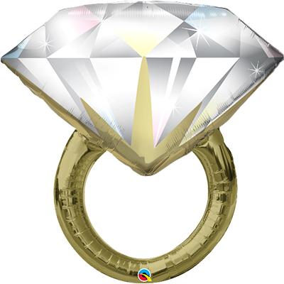 ФИГУРА 5 Кольцо с бриллиантом, 94 см