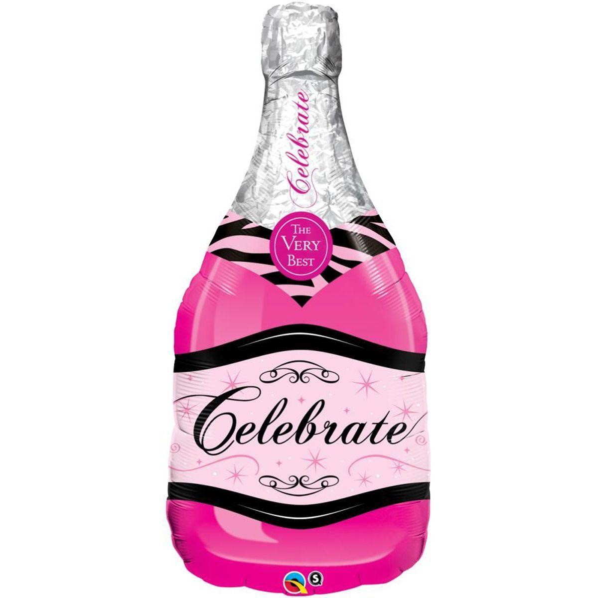 Фигура шампанское розовое, 38х86 см