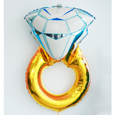 ФИГУРА Кольцо с бриллиантом, 102 см