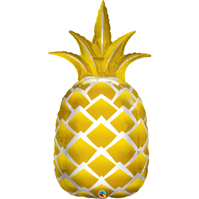Шар фигура П 6 Ананас золотой, 110см