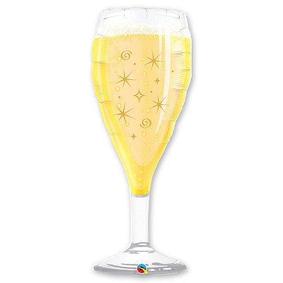 Шар фигура Бокал шампанского, 99 см
