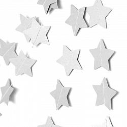 Подвеска Звезды, Белый металлик, 230 см