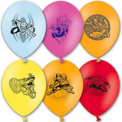Шарики с рисунком Marvel Человек Паук