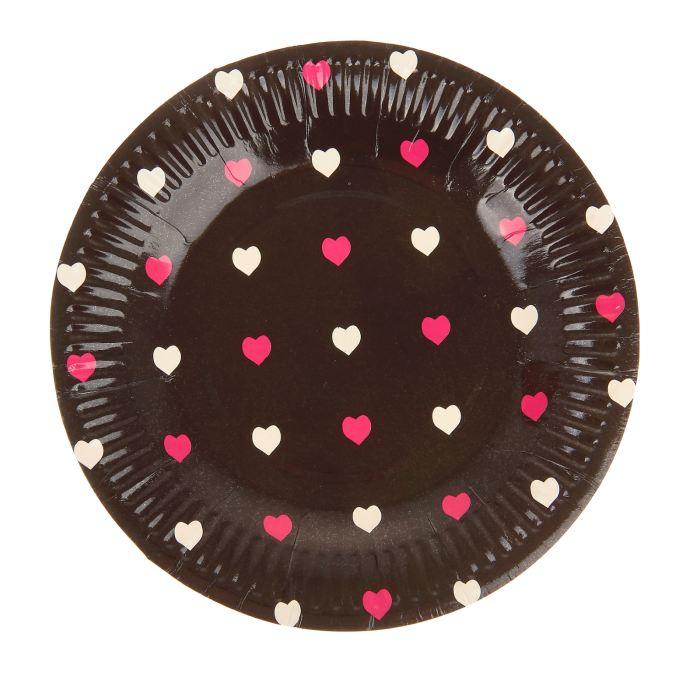 Набор бумажных тарелок
