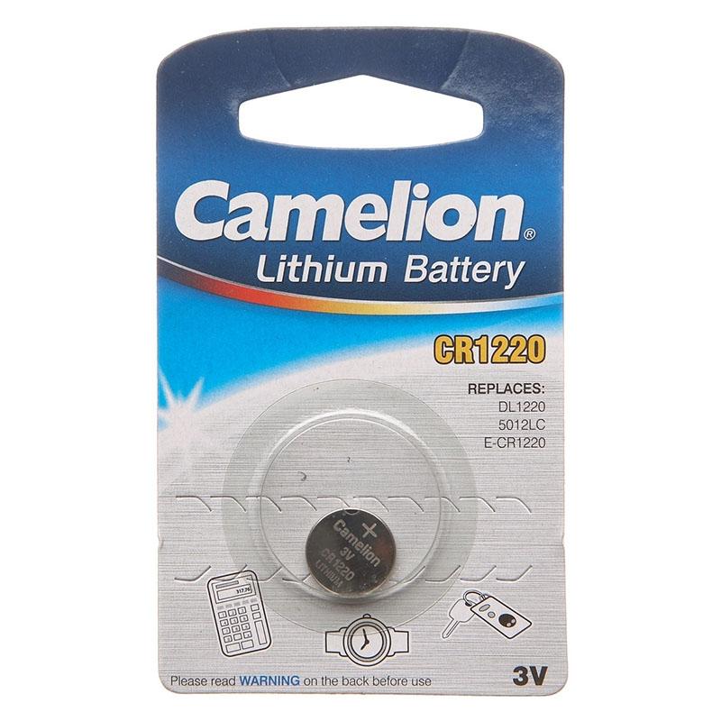 Батарейка Camelion CR 1220 3v BL-1 (1/50)