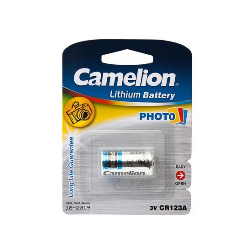 Батарейка Camelion CR 123A BL-1 (10 шт)
