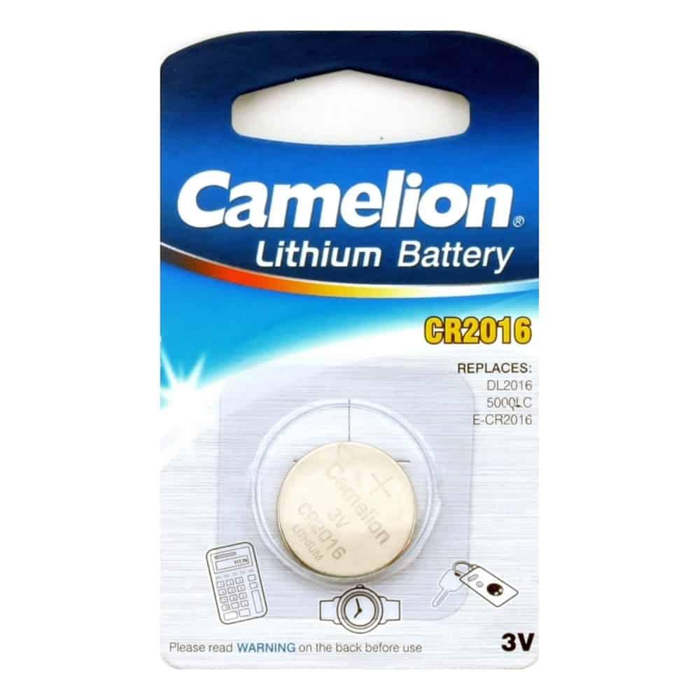 Батарейка Camelion CR 2016 3v BL-5 (1/50 шт)