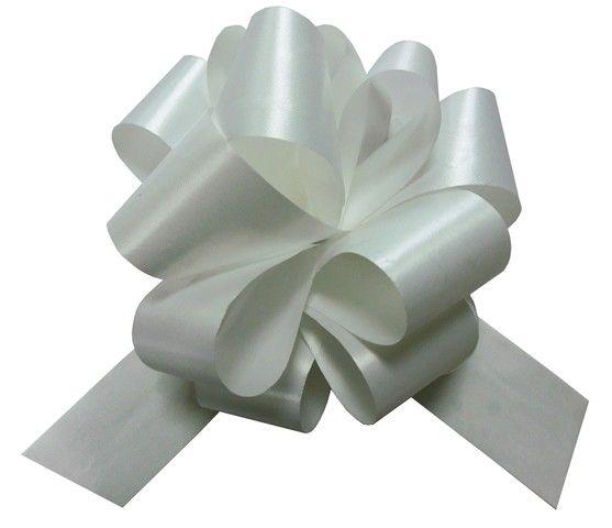Бант Шар Пастель Белый (5\/13 см), 1 шт