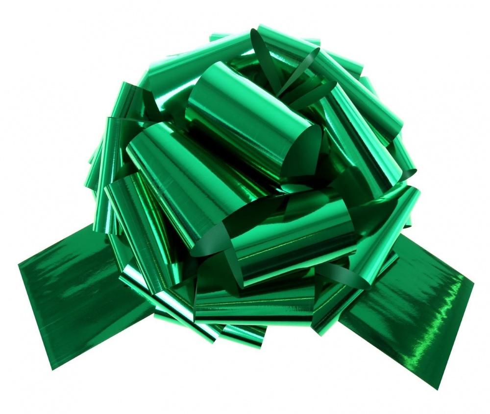 Бант Шар металлик Зеленый (6,5\/17 см), 1 шт