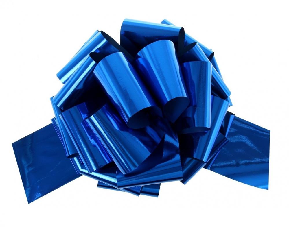 Бант Шар металлик Синий (5\/13 см), 1 шт.
