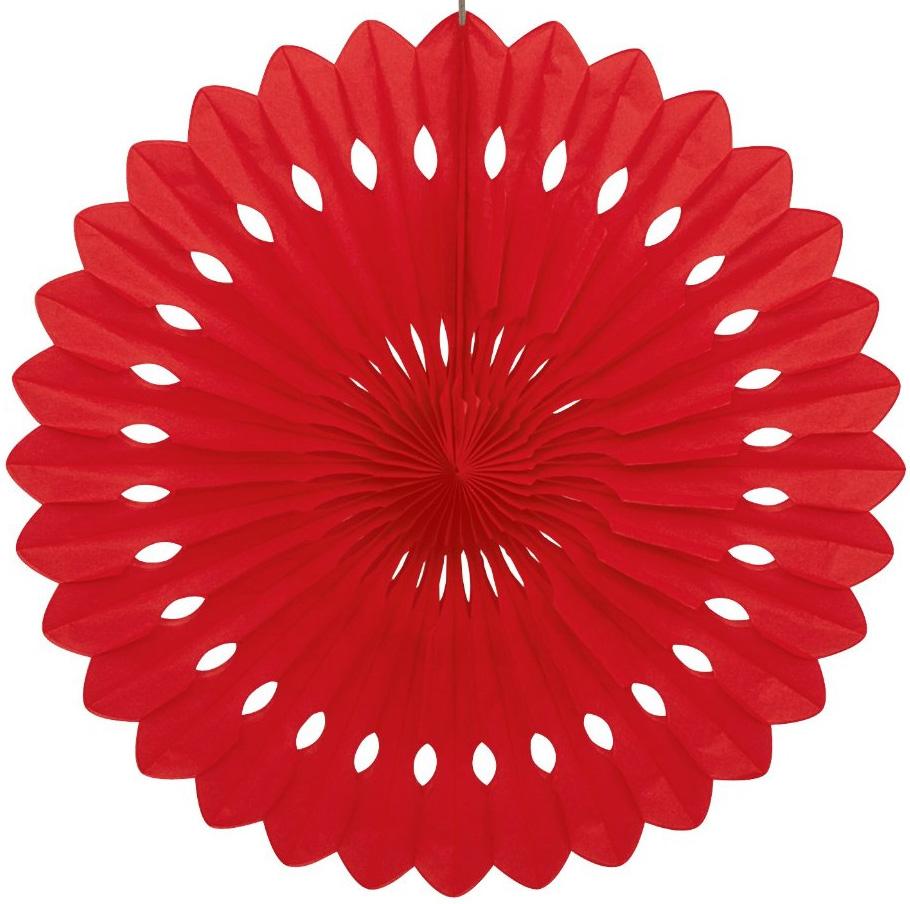 Бумажный диск Красный (20\/51 см)