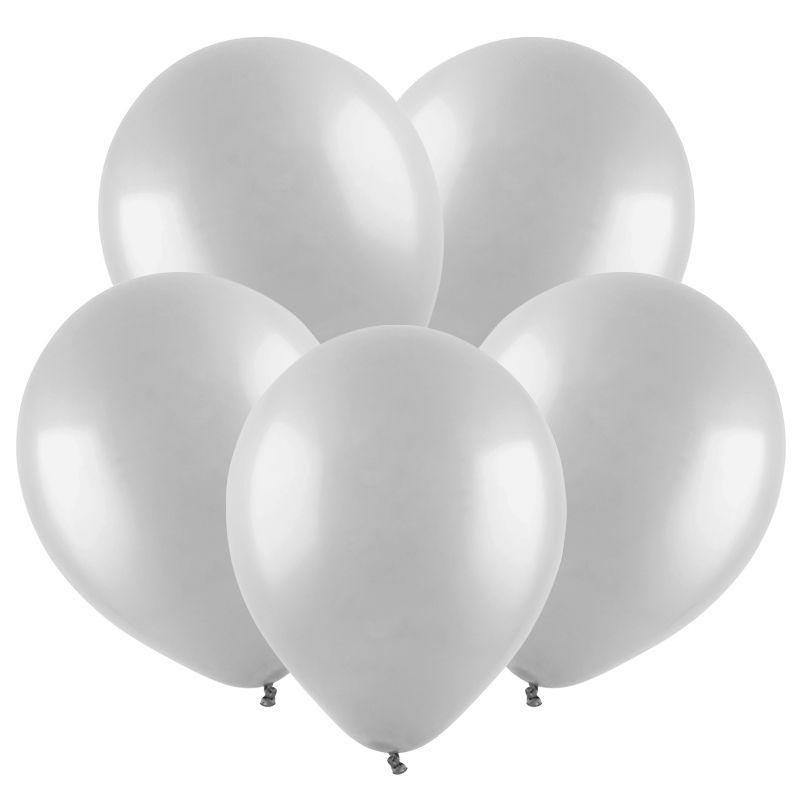 Серый, Пастель / Grey, 30 см, 100 шт