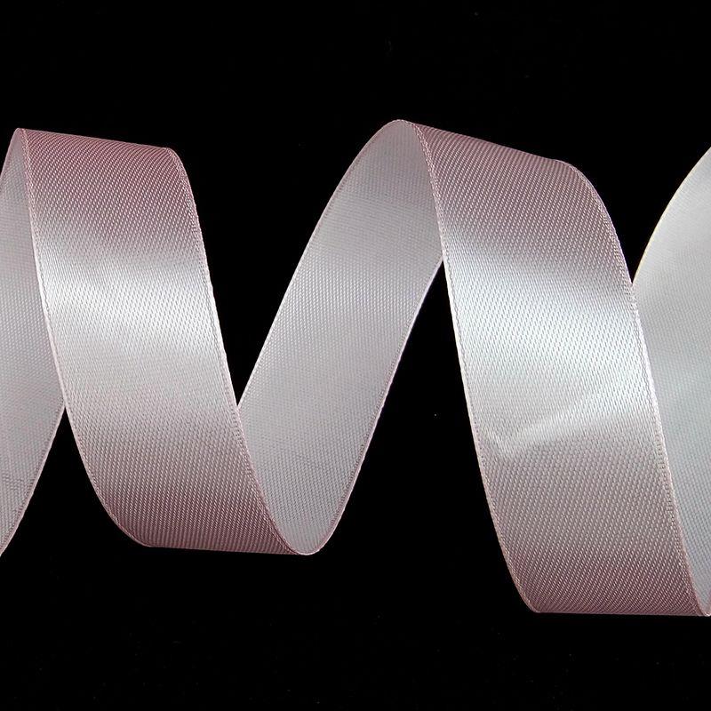 Лента Атлас Нежно-розовый / 25 мм * 22,85 м