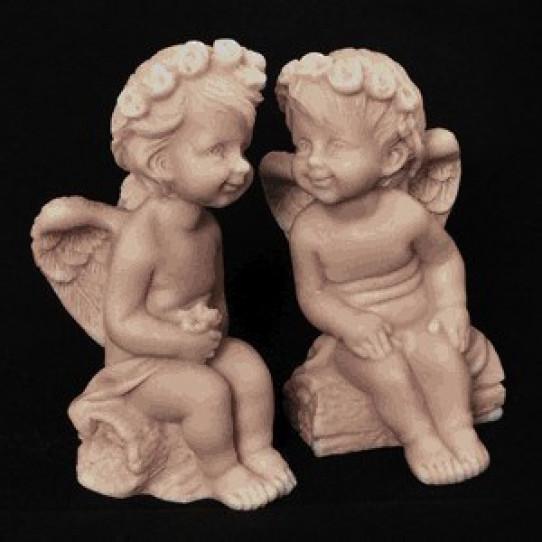 Ангелочки на бревнышке (2 вида)7см