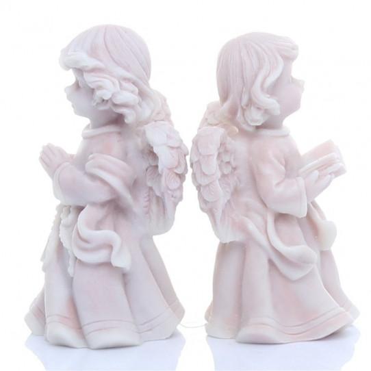 Ангелочек молящийся и с книжкой (2 вида)6,2см