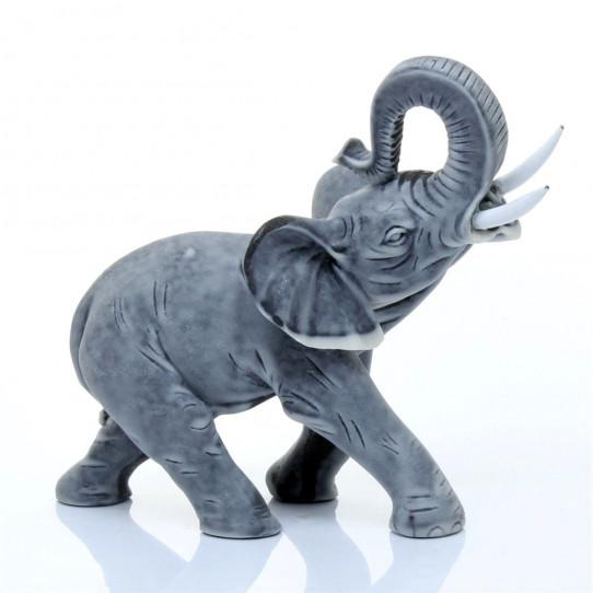 Слоник средний 1 (с торчащими бивнями)10,8см