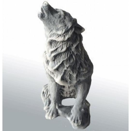 Волк воет малый 10cм