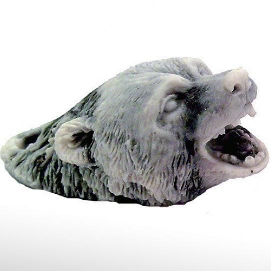 Голова медведя (2 вида) брелок 5,5см