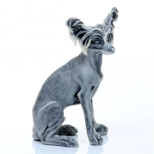 Китайская хохлатая собака 8,5см