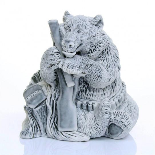 Медведь охотник 9см